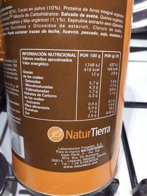 Batido Proteico Vegetal Sabor Chocolate