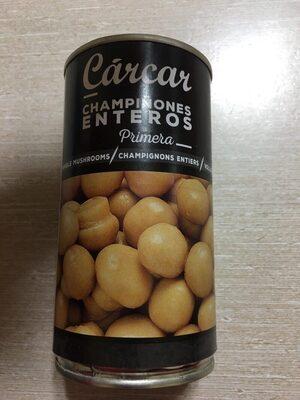 Champiñones enteros - Nutrition facts