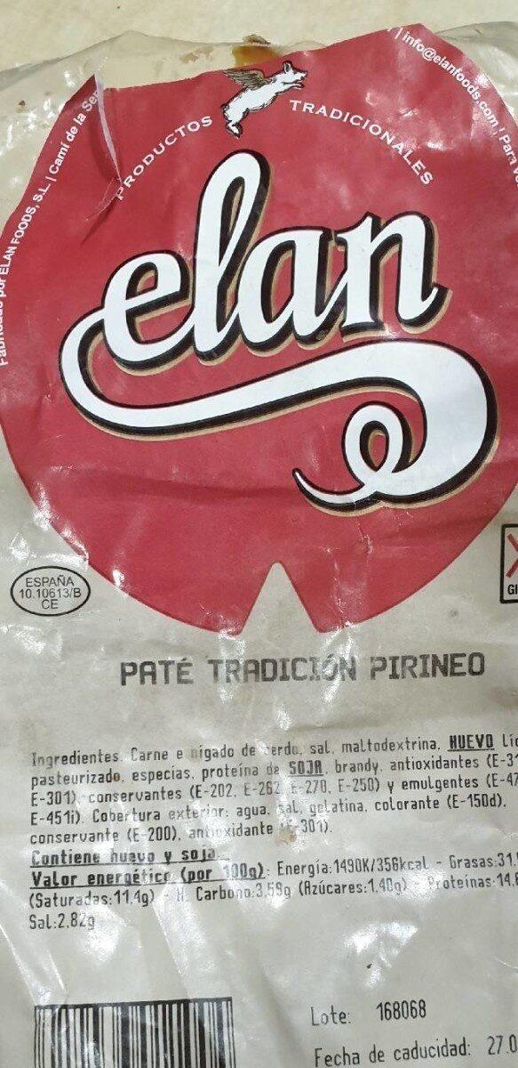 Paté Tradición Pirineo - Producte - es
