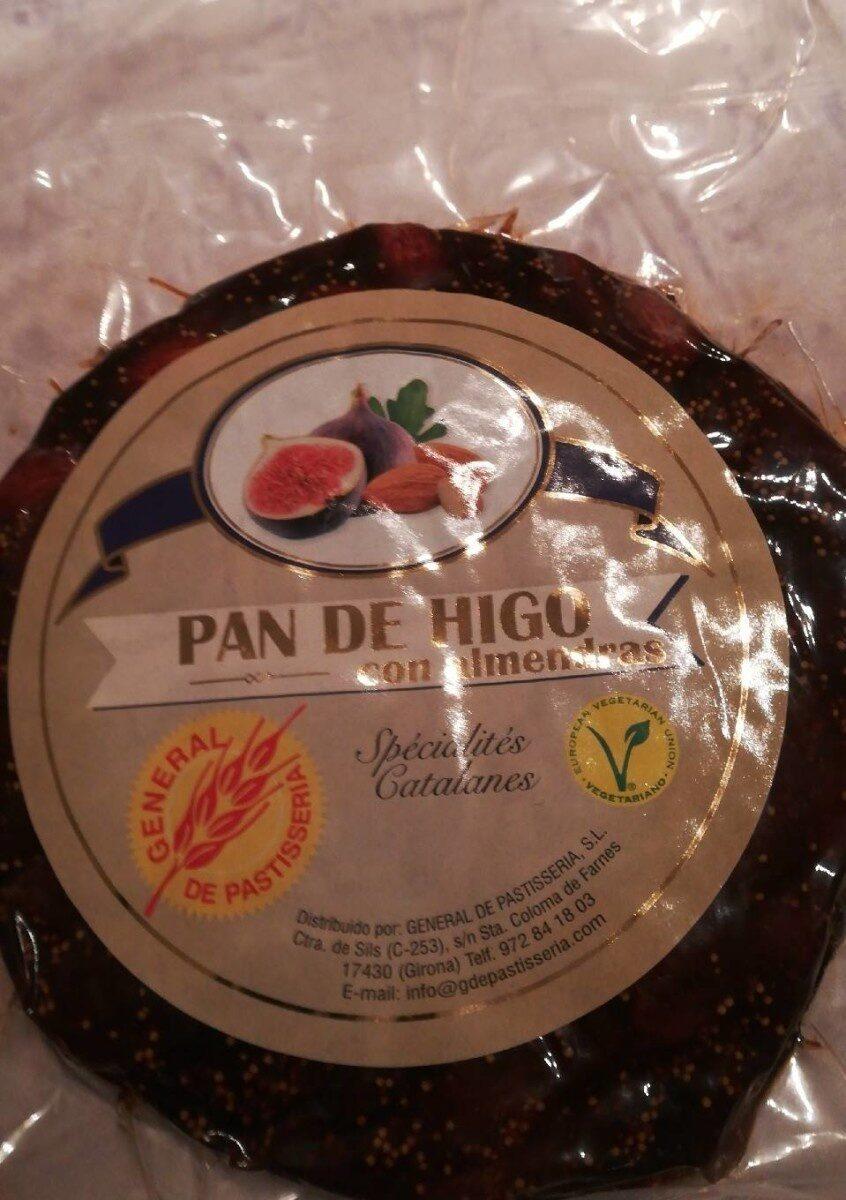 Pain de figues aux amandes - Produit