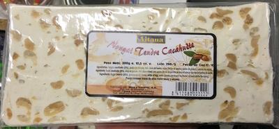 Nougat tendre cacahuète - Product