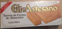 Turrón de Crema de Almendra - Product - fr
