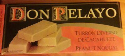 Turrón diverso de cacahuete - Producto - es