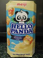 Hello Panda chocolate blanco - Product