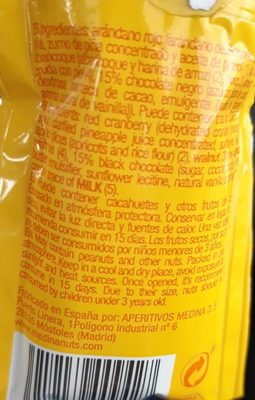 Nuts time - Ingredients - fr