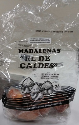 Madeleines Espagnoles