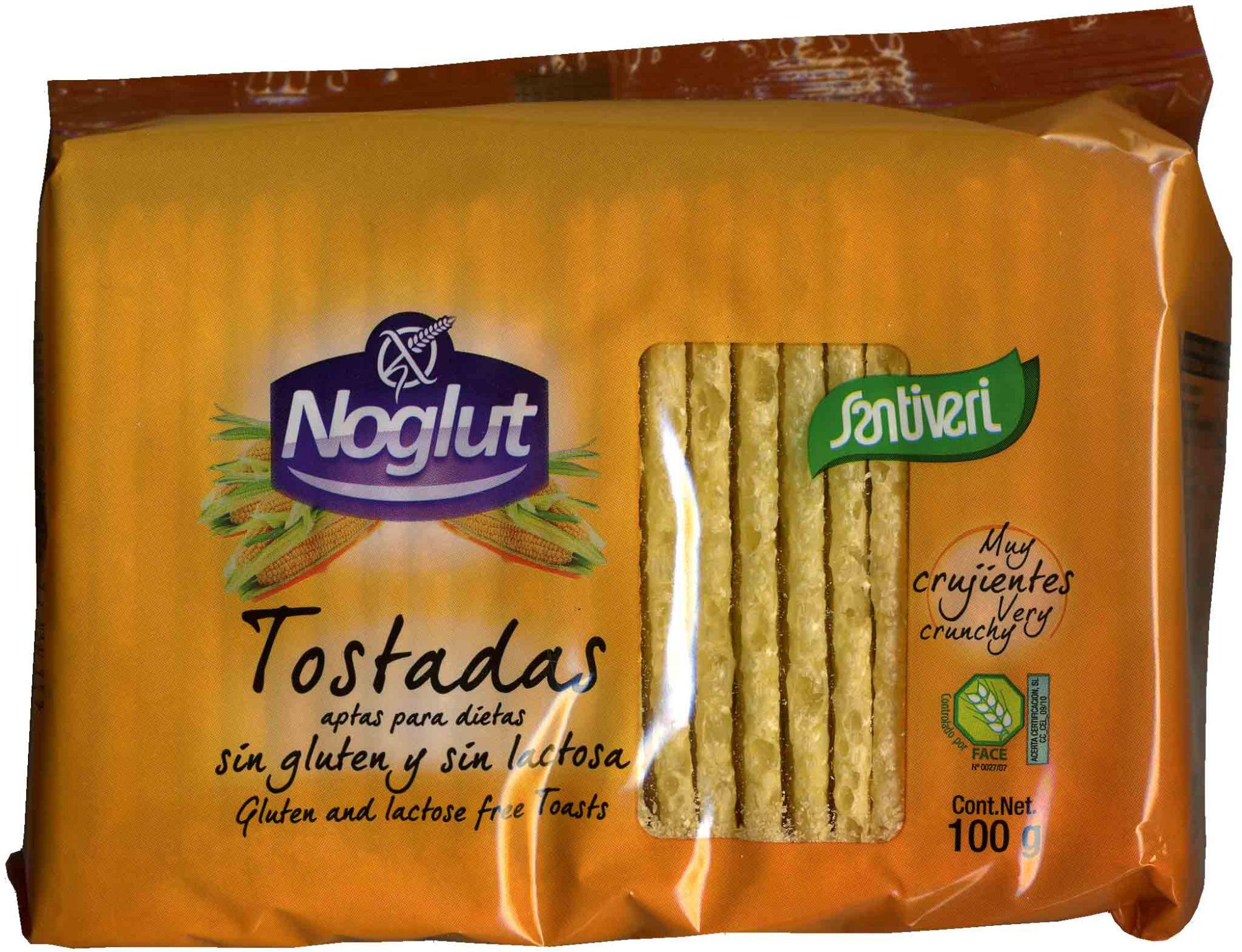 Tostadas Noglut - Producto