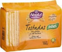 Noglut tostadas ligeras sin gluten y sin lactosa - Product - es