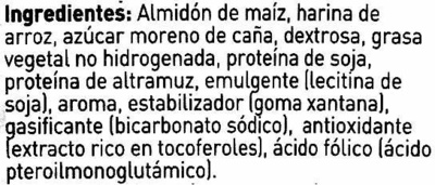 ingredientes galletas