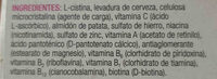 Multivigor Santiveri - Ingredients - en