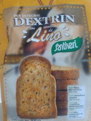 Pan integral dextrin con semillas de lino - Produit