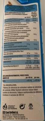 Calciavena - Nutrition facts