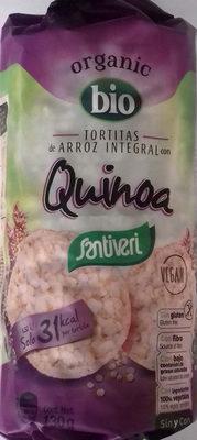 Tortitas de Arroz Integral con Quinoa - Producto
