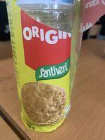 Galletas digestive sin azúcares, sin lactosa y sin huevo - Producto - es