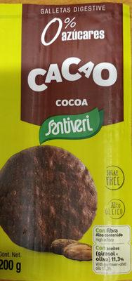 Galletas cacao santiveri - Produit - fr