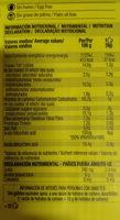 Galletas digestive 0% azúcares cacao - Voedingswaarden