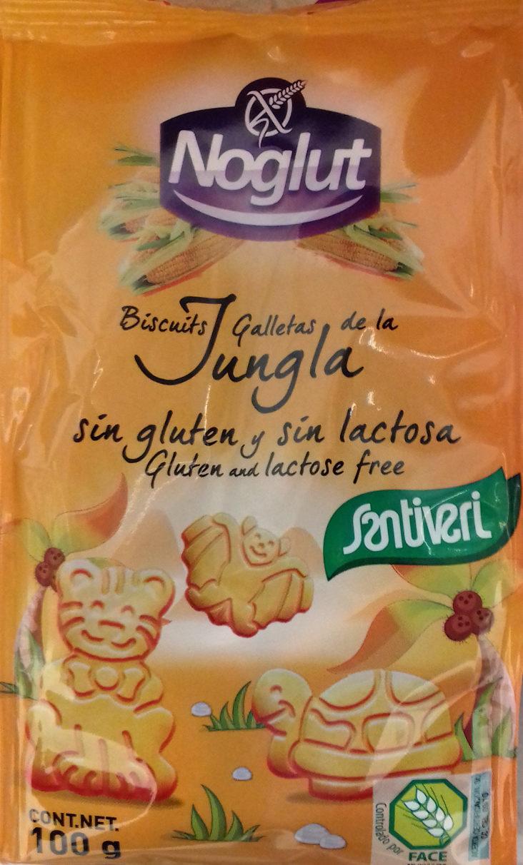 Noglut jungla galletitas con formas de animales - Producto - es