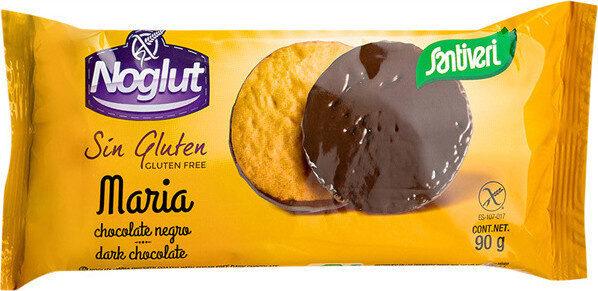 Noglut galletas maría con chocolate negro sin gluten - Producto - es