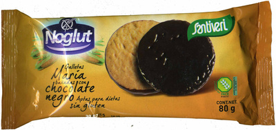 Galletas María sin gluten con chocolate - Producto