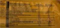 Noglut galletas maría con chocolate negro sin gluten - Información nutricional - es