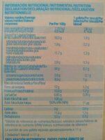 Galletas Salvado Avena - Informations nutritionnelles