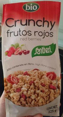 Crunchy Frutos Rojos 325 G. - Producte