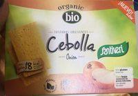 Organic bio tostadas crujientes con cebolla ecológicas - Produit - fr