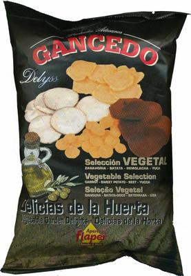 """Mezcla de vegetales fritos """"Aperitivos Gancedo"""" - Producte"""