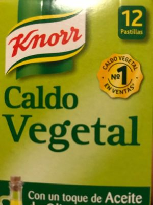 Caldo Vegetal Knorr - Producto