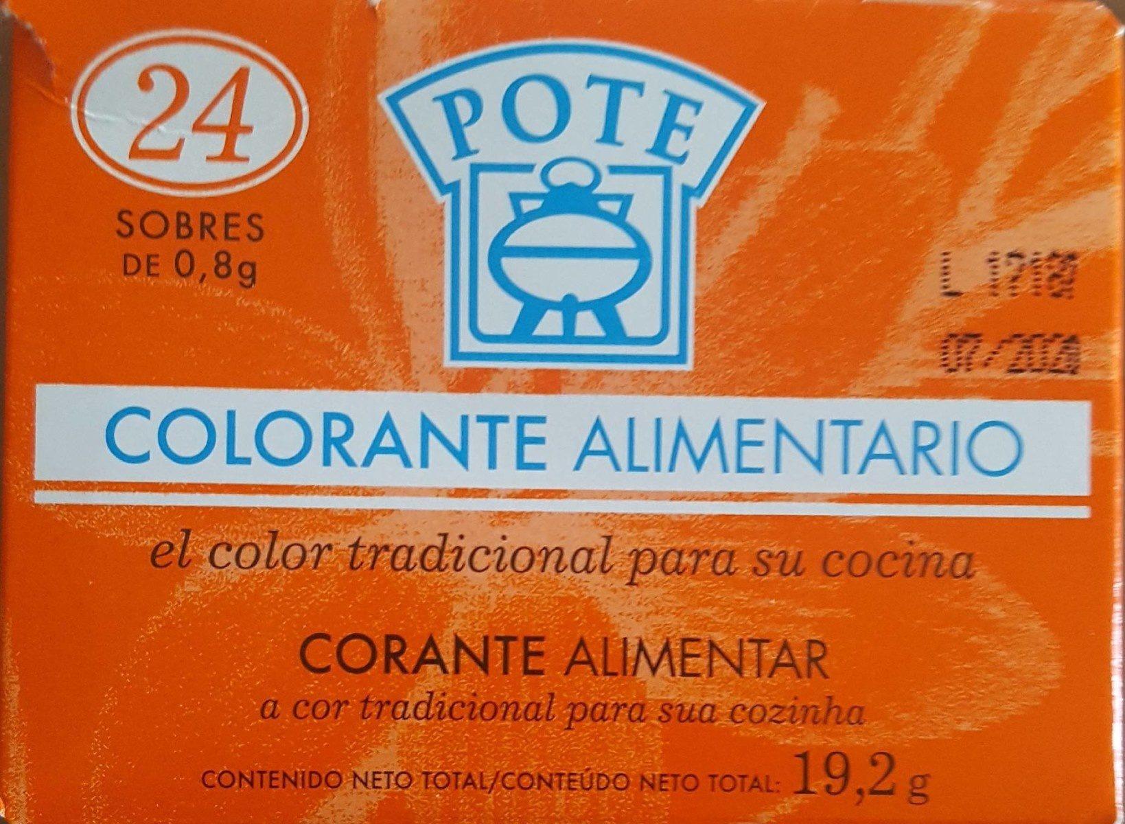 Colorante Alimentario - Producte - fr