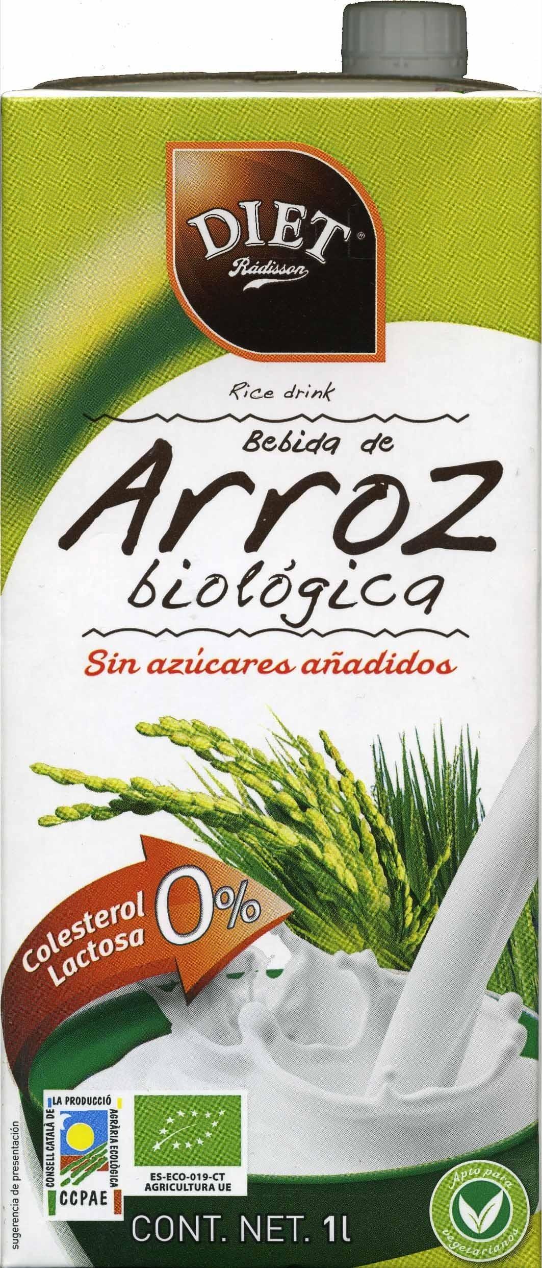Bebida de arroz Integral Biológica - Producto - es