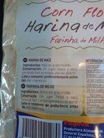 Harina de maiz - Ingredientes - es
