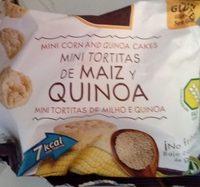 Mini tortitas de maíz y quinoa sin gluten - Producto