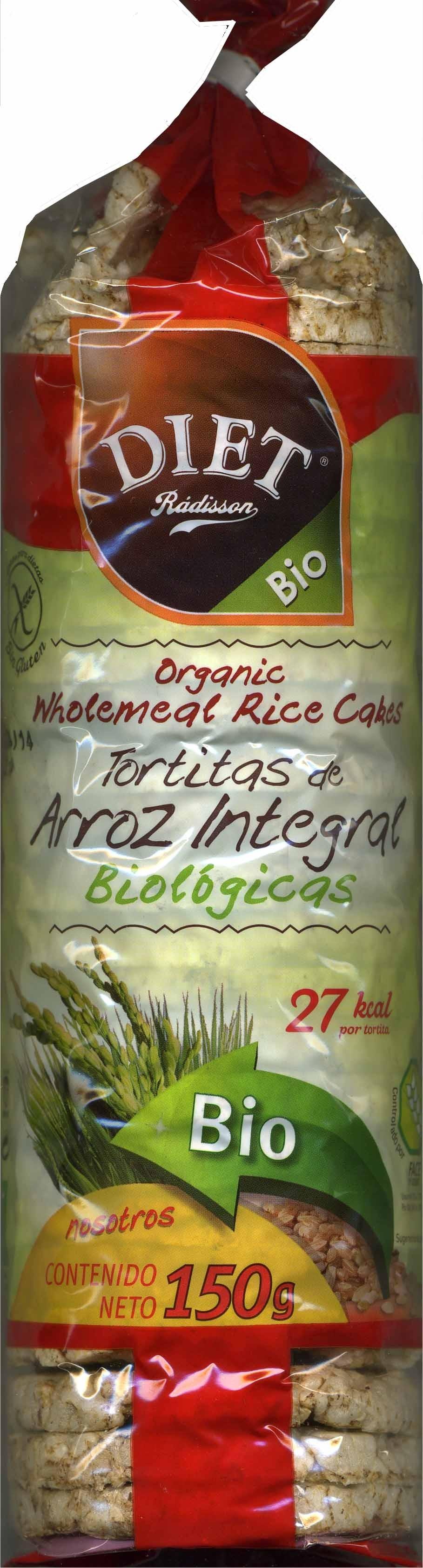 Tortitas de arroz integral - Produit - es