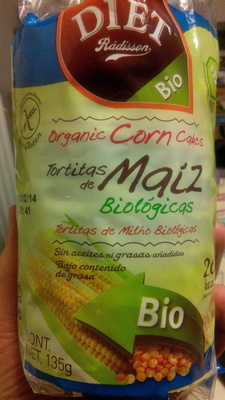 Tortitas de maíz - Produit - es
