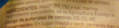 Tortitas de maíz - Ingrédients - es