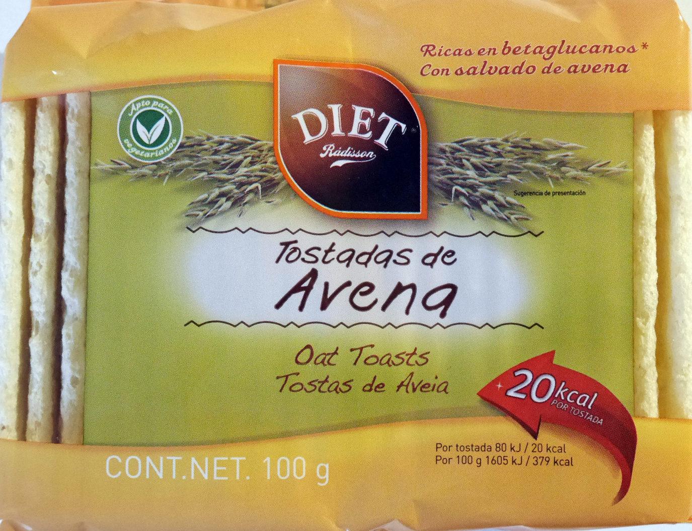 Tostadas de Avena - Producte