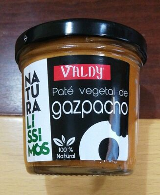 Paté vegetal de gazpacho