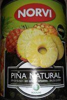Piña natural en su jugo sin azúcar añadido - Produit - es