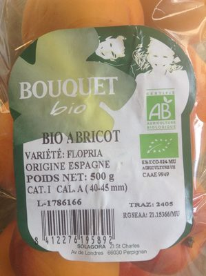 Abricot - Ingrediënten