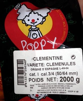 Clémentines - Produit