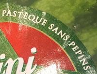 pastèque sans pépin - Ingrédients - fr