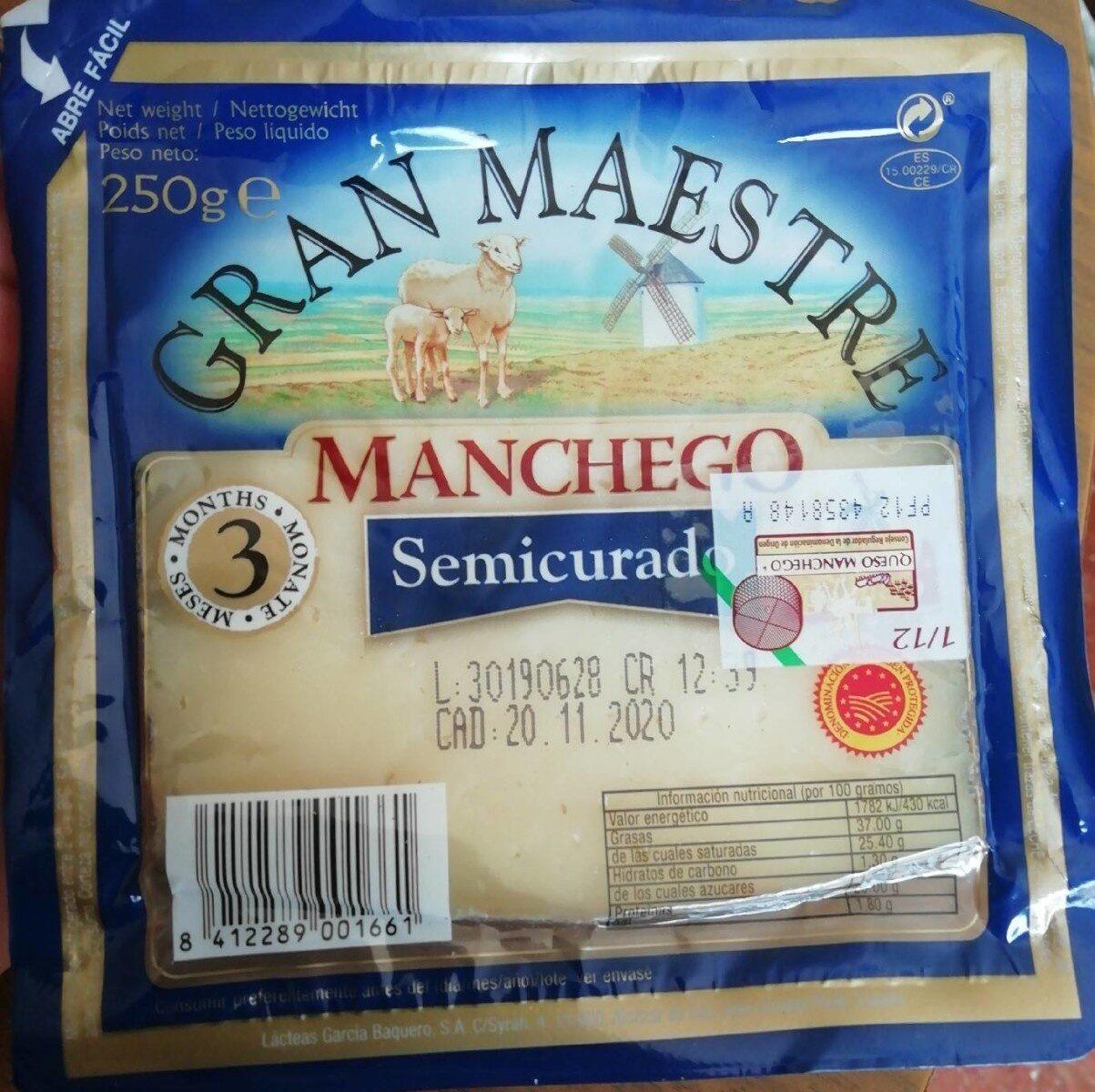 Manchego semi curado - Producte - fr