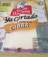 Queso de cabra ya cortado sin gluten cuña - Informació nutricional - fr