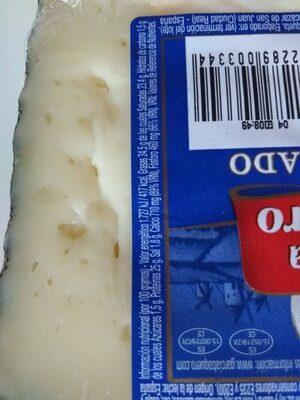 Fromage semicurado - Informations nutritionnelles - en