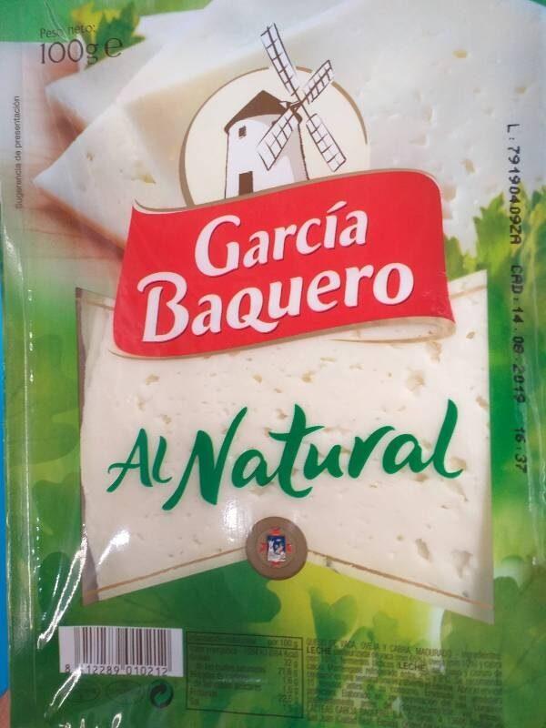 Queso al natural - Produit
