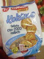 Kokinos galleta de coco rallado - Producte