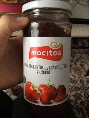 Confiture extra de fraise allegee en sucre - Produit - fr