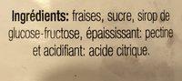 Confiture de fraise - Ingrédients - fr