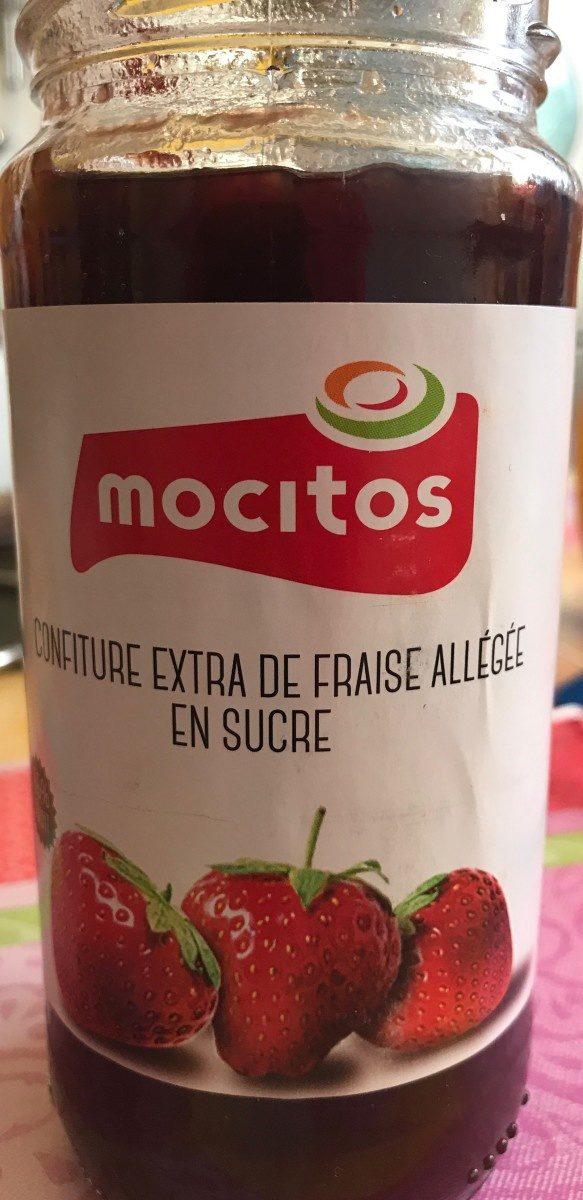 Confiture extra de fraise allegée en sucre - Product - fr